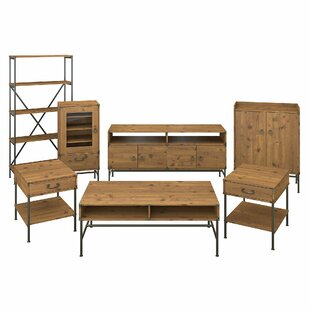 Bargain Ironworks Entertainment Center for TVs up to 65 by Kathy Ireland Home by Bush Furniture Reviews (2019) & Buyer's Guide
