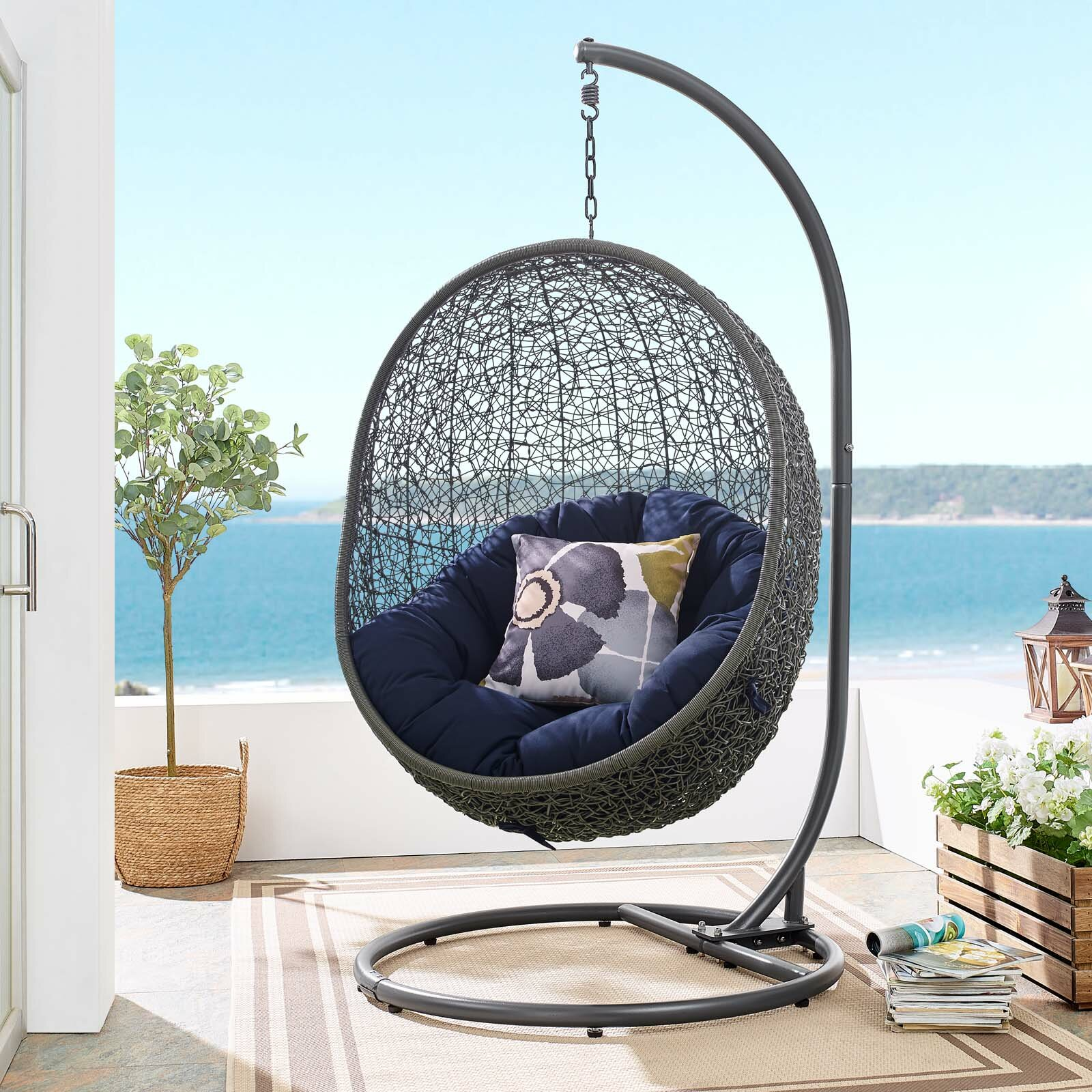 Wisconsin Outdoor Patio Swing Chair