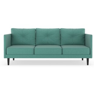 Rockwood Linen Weave Sofa by Brayden Studio Best #1