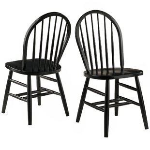 Save  sc 1 st  Wayfair & Black Windsor Kitchen u0026 Dining Chairs Youu0027ll Love | Wayfair