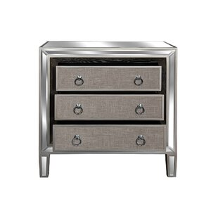 Mosteller 3 Drawer Accent Chest by House of Hampton