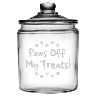 Paws Off Half Gallon Treat Jar
