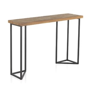 Brainard Old Elm Wooden Console Table By Williston Forge