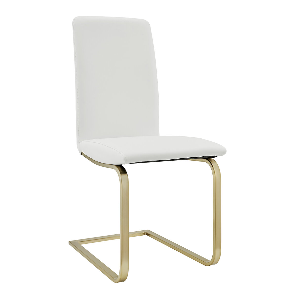 Faux Leather White Kitchen Dining Chairs You Ll Love In 2021 Wayfair