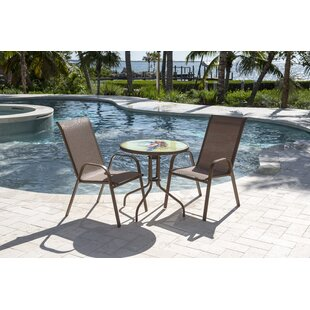Caf? Bistro Set by Panama Jack Outdoor