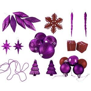 Purple Christmas Ornaments You'll Love | Wayfair