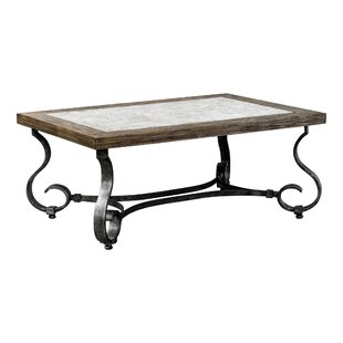 Darby Home Co Lathrop Stained Coffee Table