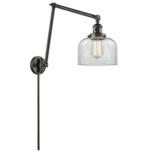 Read Reviews Emberto Bell Double 1-Light Swing Arm By 17 Stories