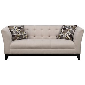 Sierra Blanca Chesterfield Sofa by Red Barre..