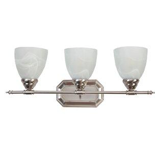 Ebern Designs Gutierrez 3-Light Vanity Light