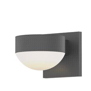 Latitude Run Algarin 2-Light LED Outdoor Armed Sconce