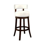 Boyers Swivel Bar & Counter Stool (Set of 2) by Latitude Run®
