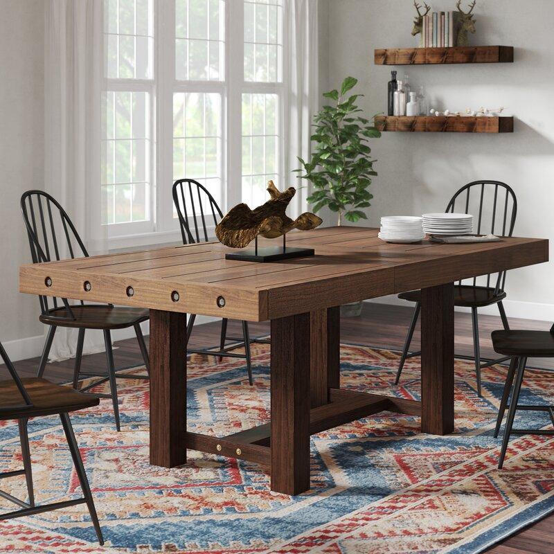 6d35718b7c6c Loon Peak Cynthia Extendable Dining Table   Reviews