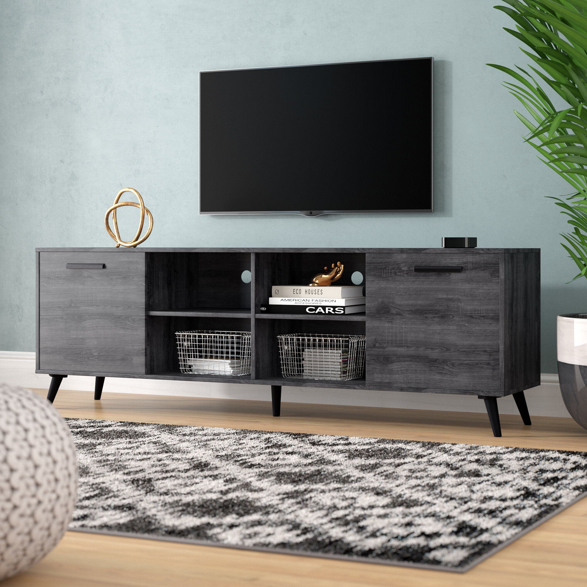 75 Inch Tv Stands Free Shipping Over 35 Wayfair
