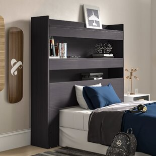 Buy luxury Parson Twin Bookcase Headboard by Turn on the Brights Reviews (2019) & Buyer's Guide