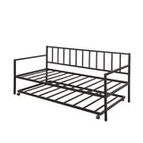 Twin Metal Daybed with Trundle by Arsuite