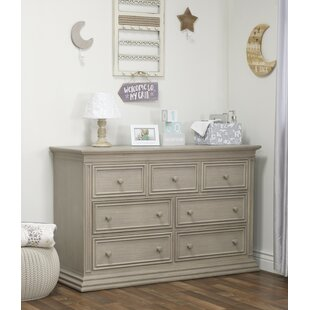 Verona 7 Drawer Double Dresser by Sorelle