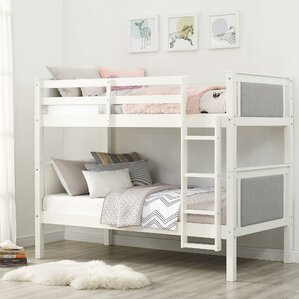 Allenside Twin Over Twin Bunk Bed by Harriet Bee