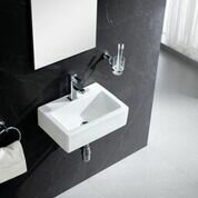 Wall Mounted Sinks Youll Love Wayfair - Small wall mounted bathroom sinks