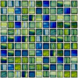 Signature Line 1 x 1 Glass Mosaic Tile