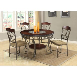 Thomaston 5 Piece Dining Set Astoria Grand