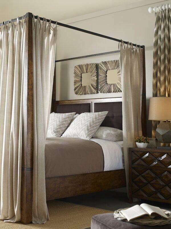 Segula Upholstered Canopy Bed