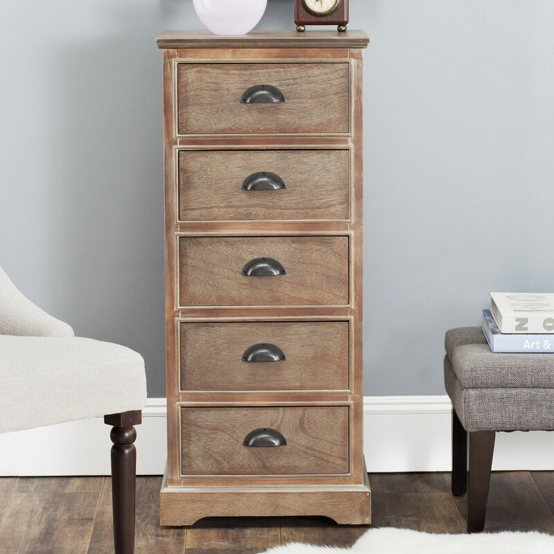 Addie 5 Drawer Chest