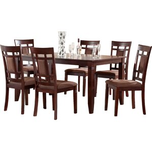 Ighli 7 Piece Dining Set by World Menagerie