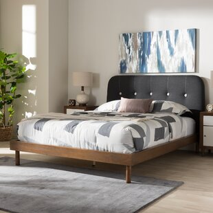 Bibb Upholstered Platform Bed by Brayden Studio
