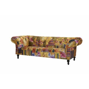Rasc 3 Seater Chesterfield Sofa By Marlow Home Co.