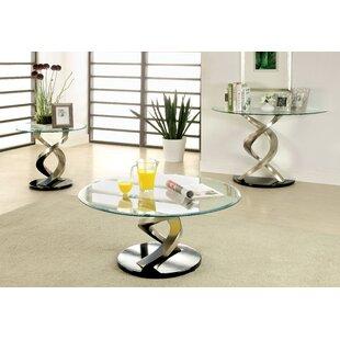 Orren Ellis Farren 3 Piece Coffee Table Set