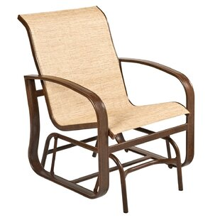 Cayman Isle Sling Glider Chair by Woodard