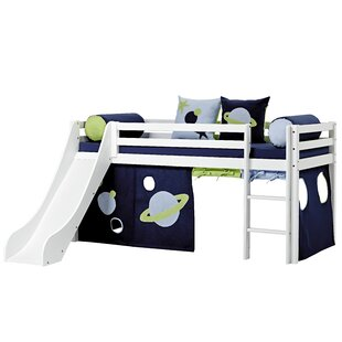 Review Basic Mid Sleeper Bed With Textil Set