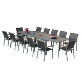 Essense 13 Piece Dining Set