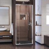 Flex 28-32 in. W x 72 in. H Semi-Frameless Pivot Shower Door byDreamLine