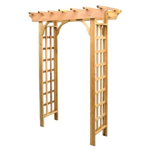 Buyers Choice Phat Tommy Vine Leaf Wood Arbor