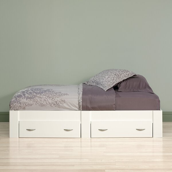 Andover Mills Ryker Twin Storage Platform Bed With Drawers Reviews Wayfair