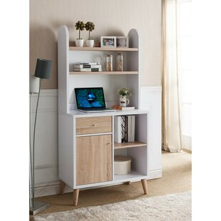 Compare Hood Wooden Standard Bookcase By Wrought Studio