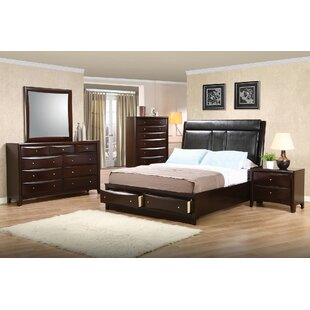 Crowther Upholstered Storage Platform Bed