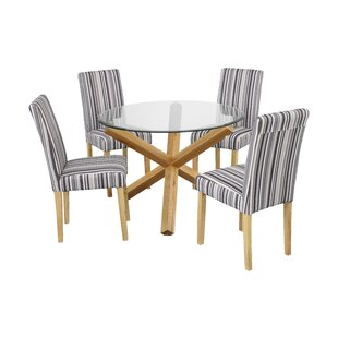 Valle Dining Table With 4 Chairs By Brayden Studio