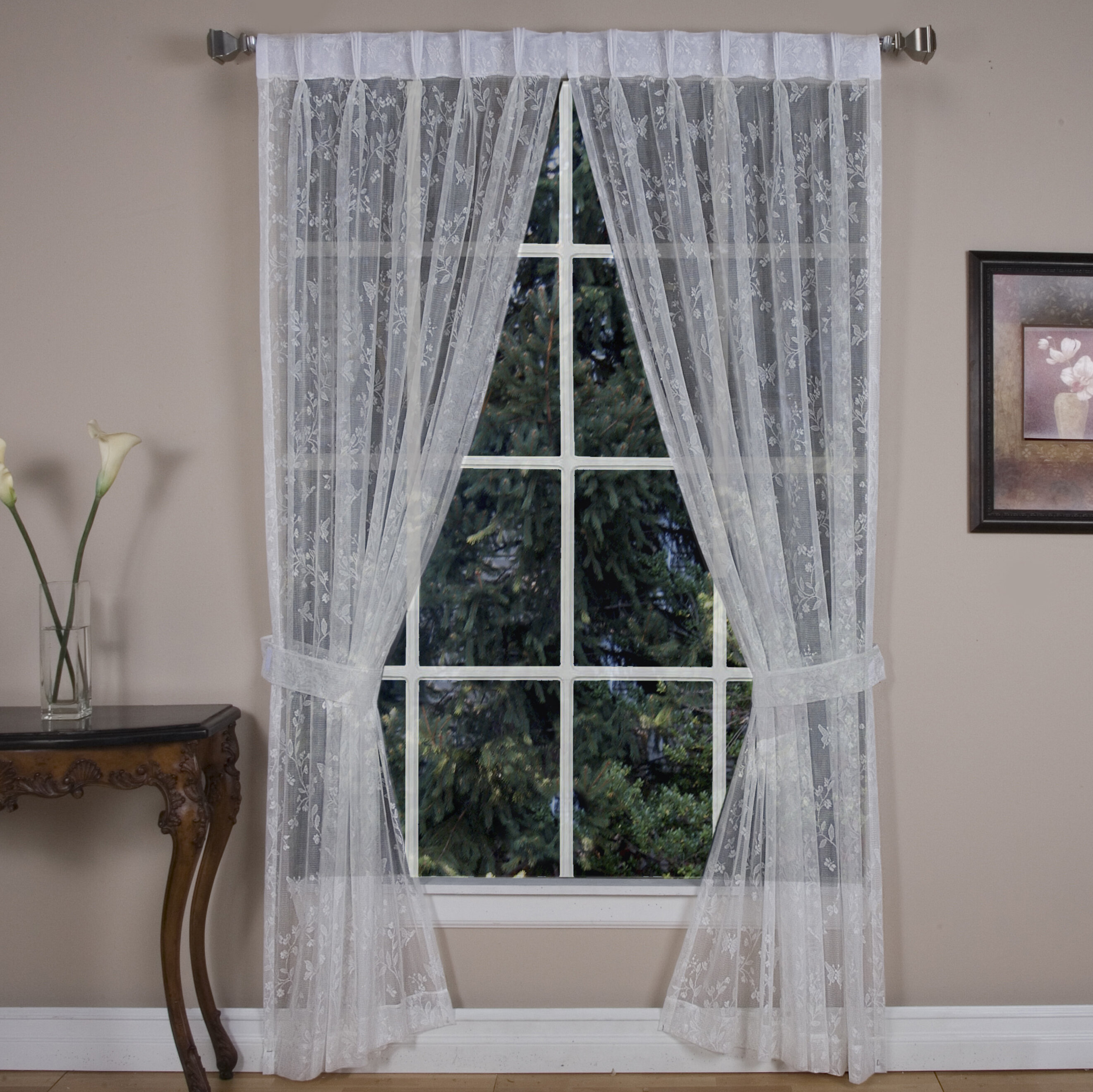 orders pinch overstock windsor panel traverse drapes pleat achim on rod product free over shipping curtain home garden for pleated