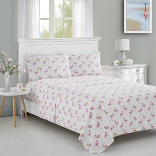 Flamingo Animal Printed Sheet Set