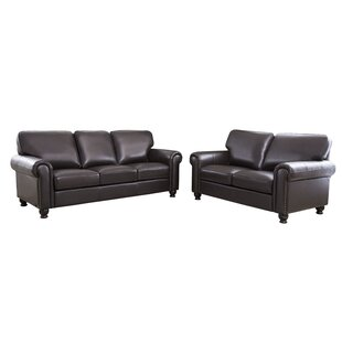 Reviews Bella Vista 2 Piece Leather Living Room Set by Three Posts Reviews (2019) & Buyer's Guide