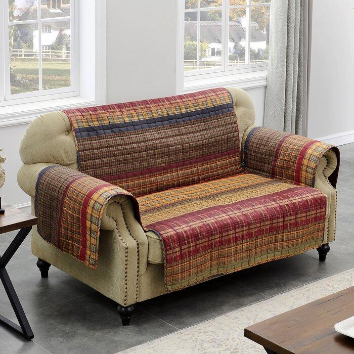 Sensational Gold Rush Loveseat Slipcover Machost Co Dining Chair Design Ideas Machostcouk