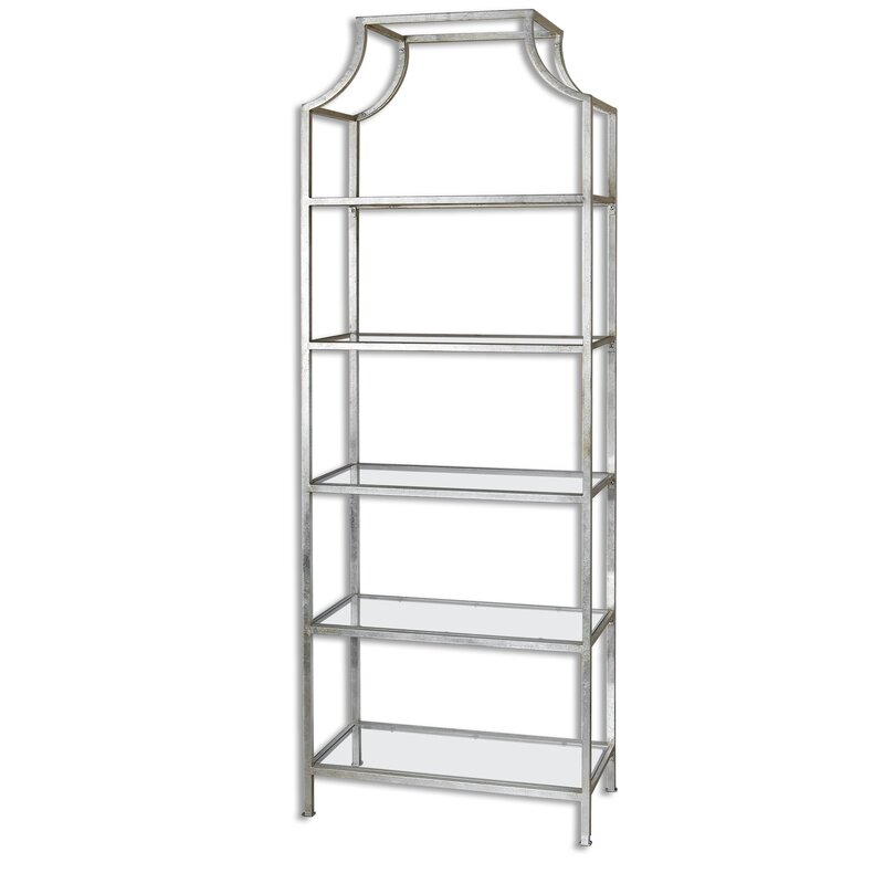 Glass Bookcases You\'ll Love | Wayfair