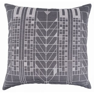 Tree of Life Jacquard Cotton Throw Pillow