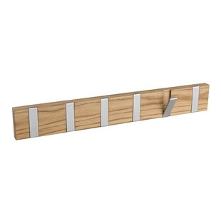 Review Rone Rail Wall Mounted Coat Rack