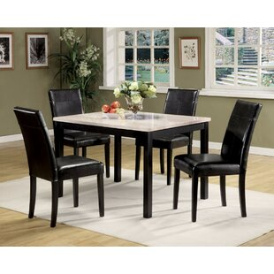 Orbison 5 Piece Dining Set Winston Porter