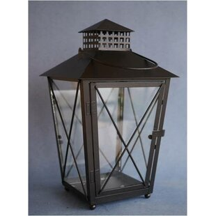 Gracie Oaks Metal Lantern