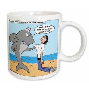 Male Nurse Shark Coffee Mug
